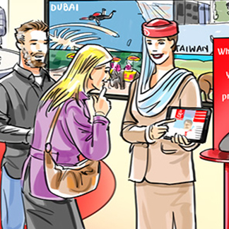 Promotional Campaign: Emirates