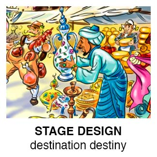 Stage Concept: Destination Destiny