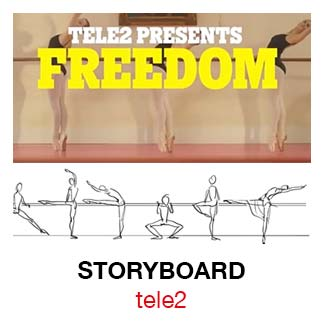 (Nederlands) Tele 2 Freedom Storyboard
